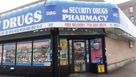 pharmacy store